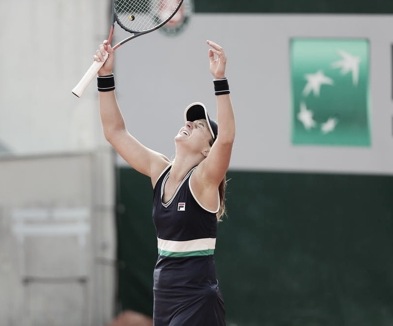 Nadia Podoroska, al cuadro principal de Roland Garros