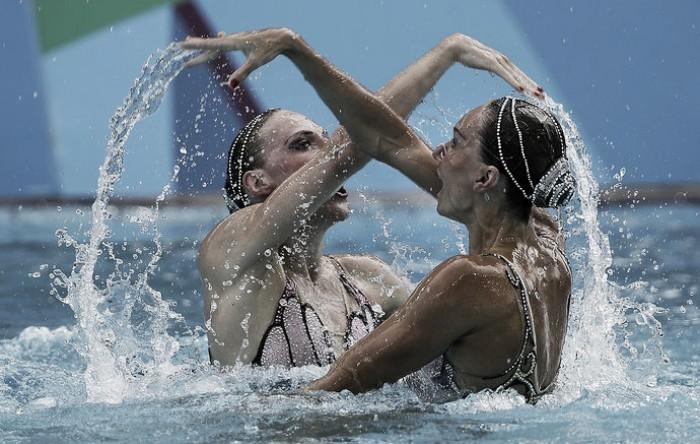 Pentacampeã! Russa aumenta sua hegemonia no nado sincronizado e fica com ouro