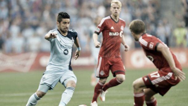 Com gol nos acréscimos,Toronto empata com Sporting KC na Major League Soccer