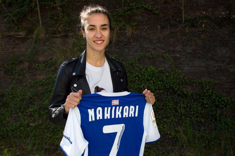 """Nahikari García: """"Desde que estoy en la Real Sociedad es la temporada difícil a nivel deportivo y personal"""""""
