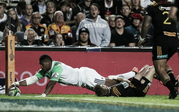 Super Rugby week 11 review: Naholo returns with brace to lead Highlanders to impressive victory in Waikato