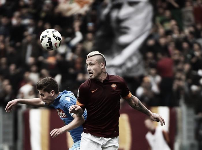 Nainggolan elege Jorginho, do Napoli, como jogador que teve mais dificuldade de enfrentar