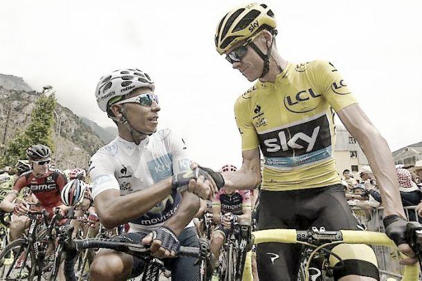 """Nairo Quintana: """"Hay muy buena montaña"""""""