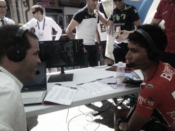 "Nairo Quintana: ""Ha sido una gran crono"""