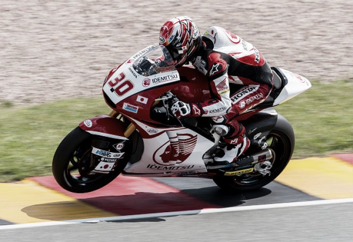Nakagami on a roll as he takes pole in Moto 2