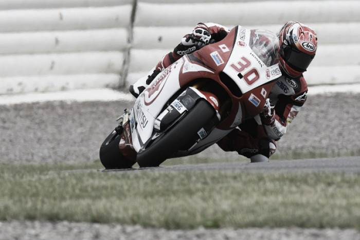 Takaaki Nakagami dominates Moto2 at Sachsenring at end of day 1
