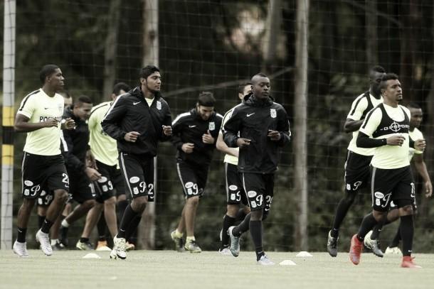 Atlético Nacional se entrenará en el 'Atanasio Girardot'