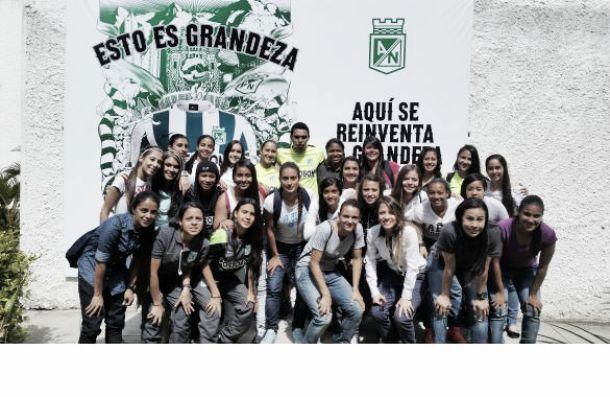 Las niñas del Atlético Nacional en busca de la Copa Libertadores femenina