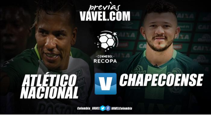 Previa Atlético Nacional vs Chapecoense: capítulo final en la Recopa Sudamericana 2017