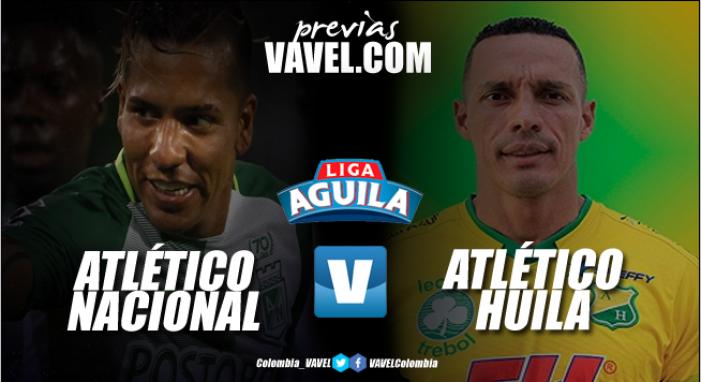 Previa Atlético Nacional vs Atlético Huila: El 'verde' quiere brillar en el Día del Hincha verdolaga