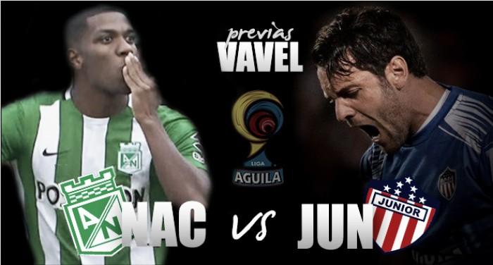 Atlético Nacional - Junior: 'verdolagas' y 'tiburones' por un lugar en la final