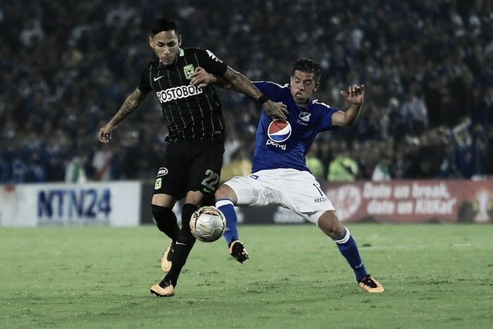 Millonarios - Nacional, clásico colombiano en los cuartos de final de la Liga Águila 2016