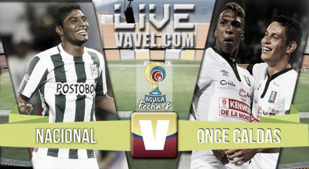 Resultado Nacional - Once Caldas por Liga Águila 2015-II (1-2)