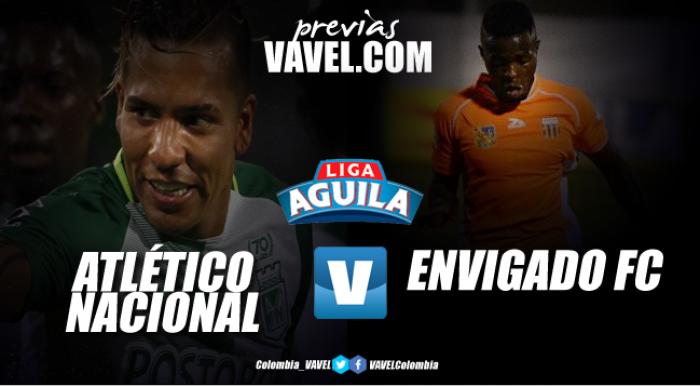 Atlético Nacional vs Envigado FC: En el 'clásico joven', el 'verde' quiere asegurar su clasificación