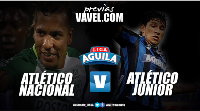 Al último minuto, Nacional venció 2-1 al Junior por Liga Águila