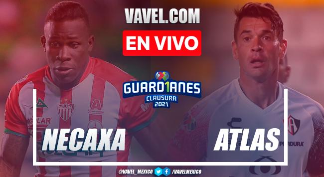 Resumen y goles: Necaxa 1-5 Atlas en Jornada 17 de la Liga MX Guard1anes 2021