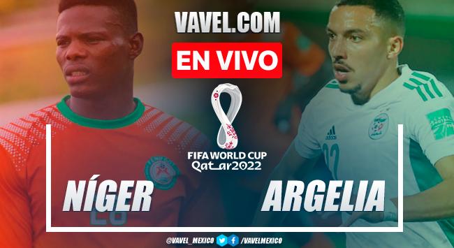 Resumen y goles: Níger 0-4 Argelia en Eliminatorias de la CAF para Catar 2022