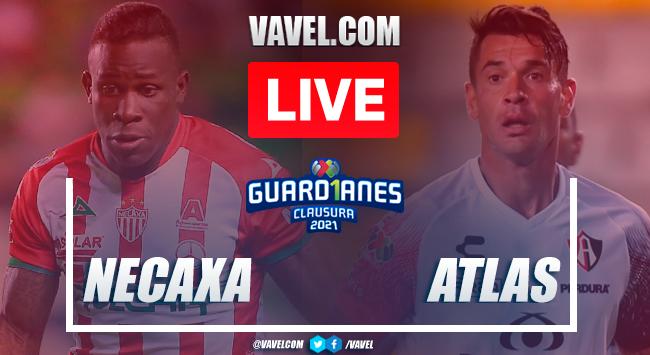Goals and highlights: Necaxa 1-5 Atlas in Liga MX Guard1anes 2021