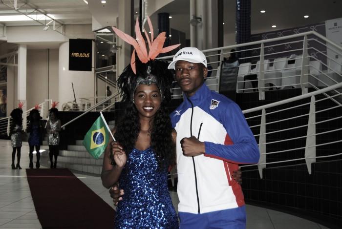 Porta-bandeira da Namíbia é preso por tentativa de estupro na Vila Olímpica