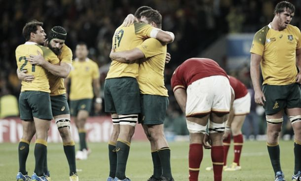 Australia 15-6 Wales: Wallabies top Pool A after heroic victory