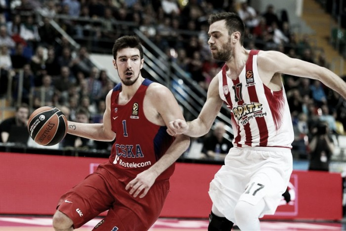 Turkish Airlines Euroleague - Il CSKA suona la ventiduesima, l'Olympiakos si arrende a Mosca