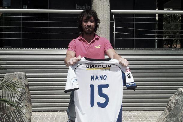 Umacon Zaragoza presenta a Nano Modrego