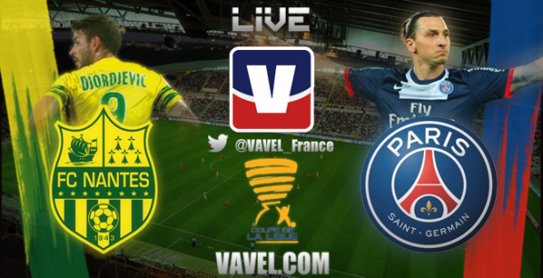 Live FC Nantes - Paris Saint-Germain, le match en direct