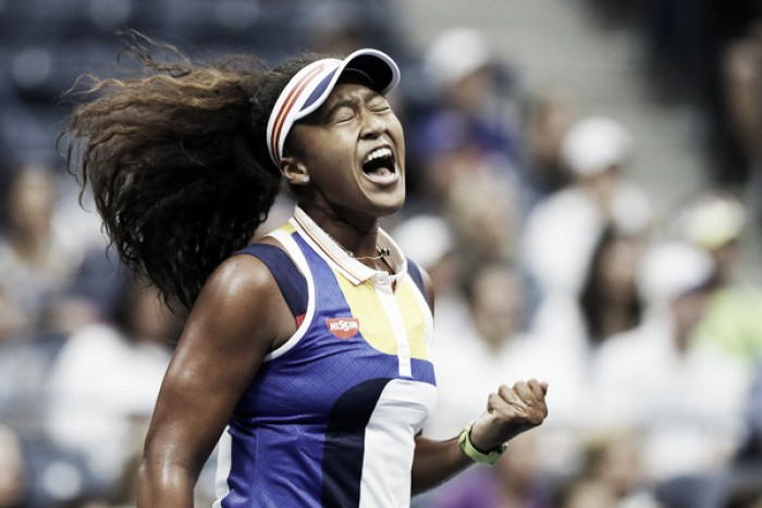 US Open: Outstanding Osaka overpowers defending champion Kerber in offensive masterclass