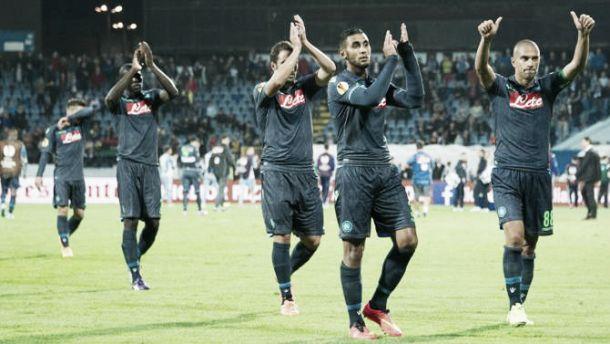 Diretta Trabzonspor - Napoli, risultati Live dell'Europa League (0-4)