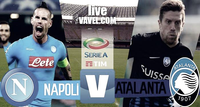 Napoli - Atalanta in Serie A 2016/17 (0-2): doppietta di Caldara, azzurri in bambola