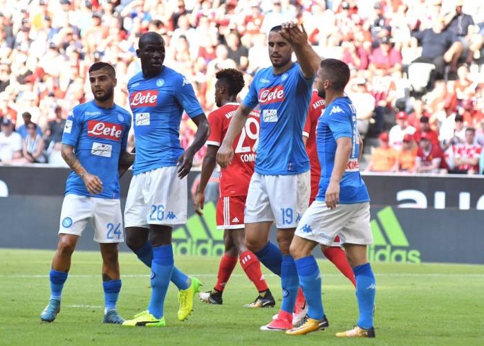 Napoli, tante conferme e pochi dubbi di ritorno dall'Audi Cup