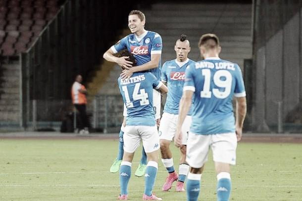 Live Club Brugge - Napoli, Europa League 2015/2016 in diretta (0-0): Hamsik titolare per Insigne