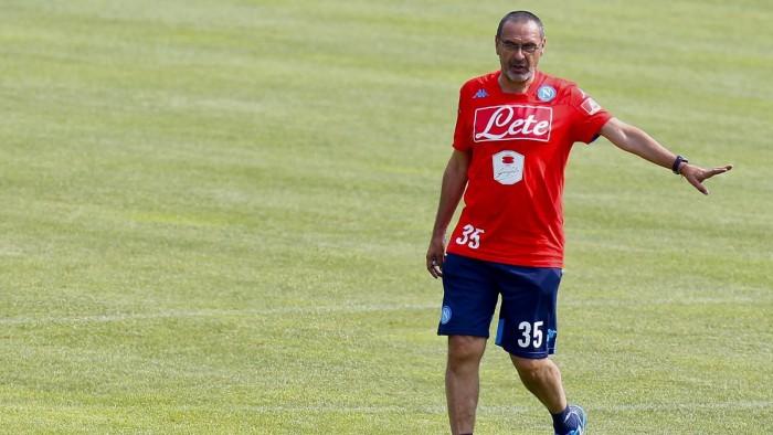 Napoli, ultimo allenamento a Castelvolturno prima della partenza per Manchester
