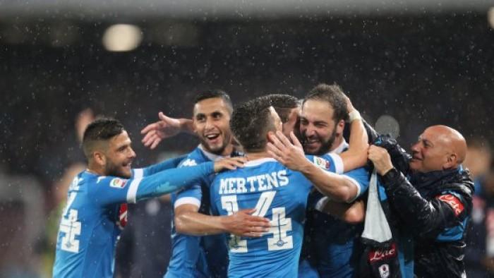 Festa Napoli: azzurri secondi, Higuain nella storia. Al San Paolo è poker al Frosinone