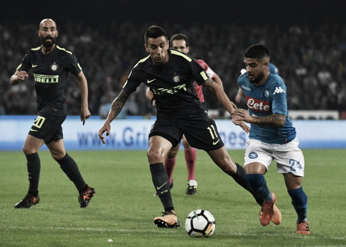 Handanovic fecha o gol, Inter arranca empate e tira 100% do Napoli na Serie A