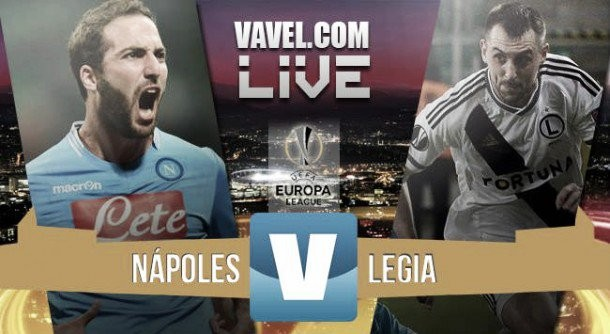 Risultato Napoli - Legia Varsavia, Europa League 2015/16 (5-2): Chalobah, Insigne, Callejon, Mertens (2)