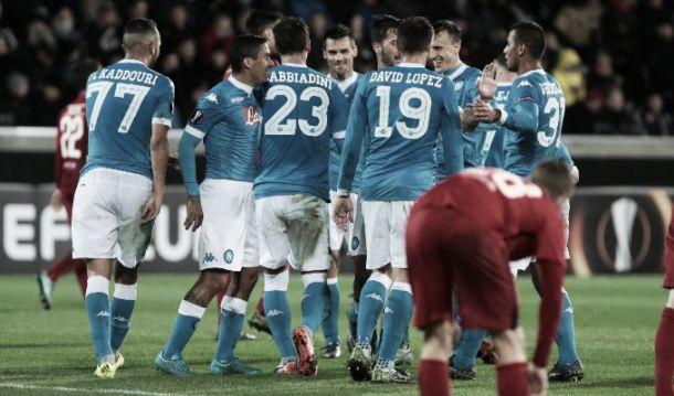 Napoli, con il Midtjylland per il primato, la qualificazione ed il campionato