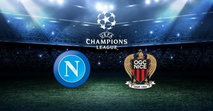 Champions League, sarà Napoli - Nizza: le reazioni delle società e dei protagonisti