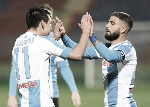 Insigne comanda Napoli em goleada, projeta decisão na Europa League e diz ser possível sonhar alto