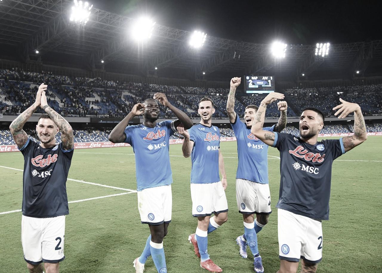 Napoli surpreende no segundo tempo e vence Juventus de virada