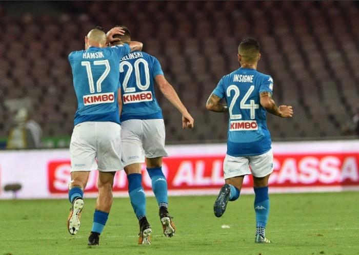Napoli-Benevento, le formazioni ufficiali. C'è Hamsik, le 'Streghe' si affidano ad Armenteros dal 1'