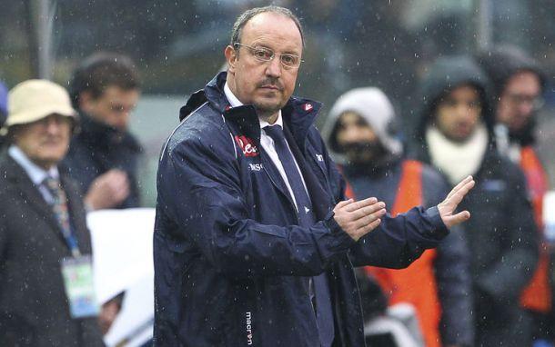 """Benitez: """"Peccato per il terzo gol"""""""