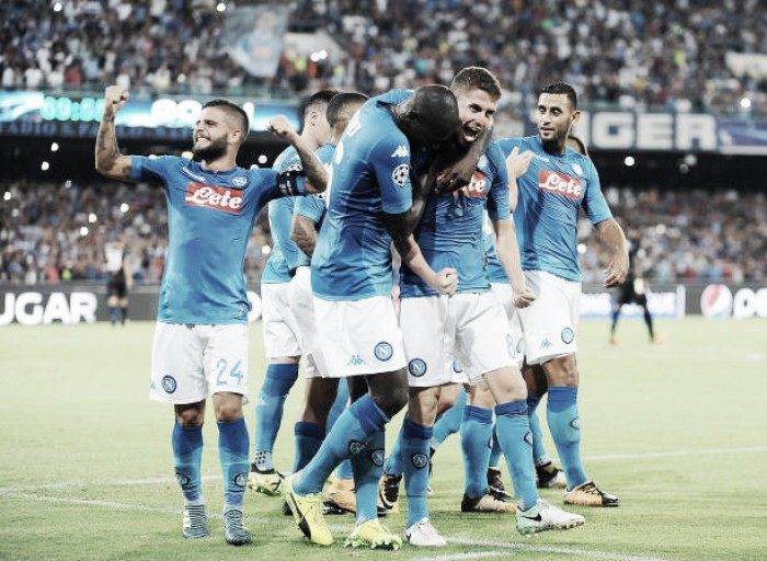 Resultado Nice x Napoli pelos playoffs da Uefa Champions League 2017/18 (0-2)