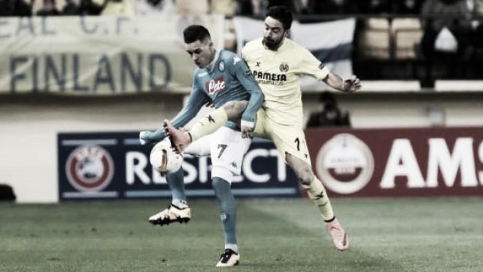 El Villarreal afrontará el duelo ante la Roma con el Nápoles en el recuerdo