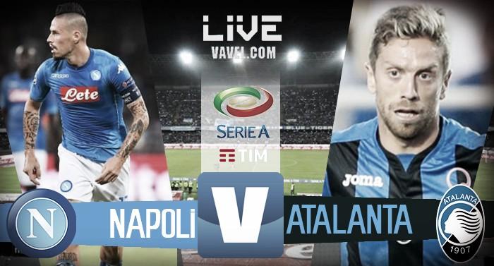 Napoli - Atalanta terminata, LIVE Serie A 2017/18 (3-1): Rog chiude la rimonta perfetta degli azzurri!