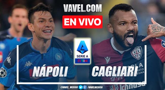 Goles y resumen del Nápoli 2-0 Cagliari en Serie A 2021