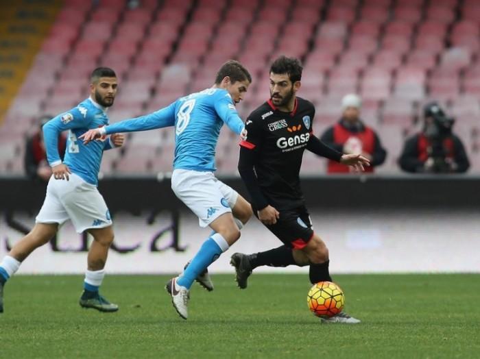 Napoli - Empoli in Serie A 2016/17 (2-0): raddoppio Chiriches!