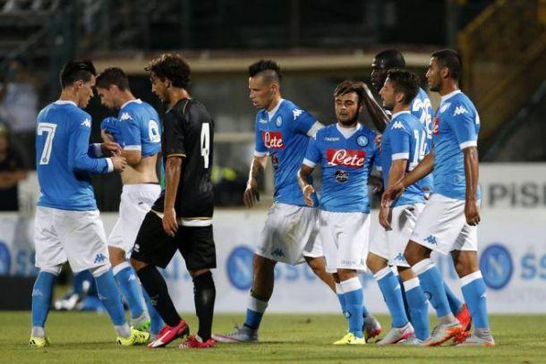 Napoli, ultimo test a Dimaro contro il Cittadella