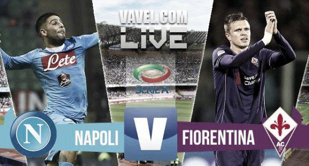 Live Napoli - Fiorentina, risultato partita Serie A 2015/2016  (2-1)