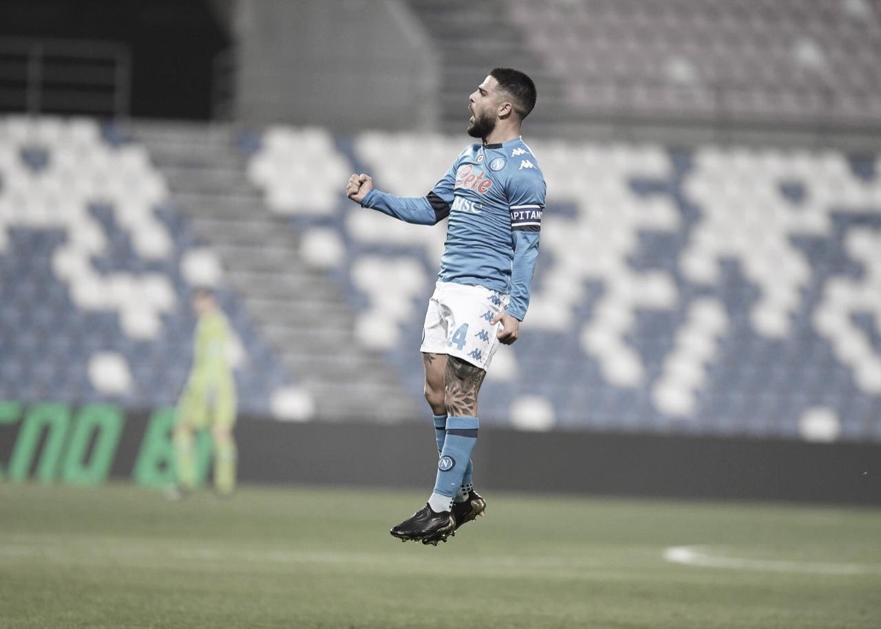 Sassuolo busca empate heroico com Napoli nos acréscimos